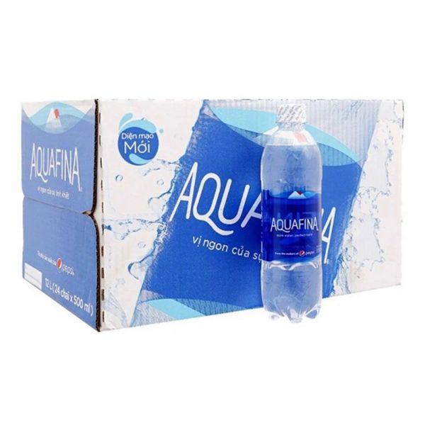 thùng nước suối Aquafina